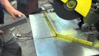 Самодельный отрезной станок.-sawing machine for metal(, 2013-08-17T20:58:24.000Z)