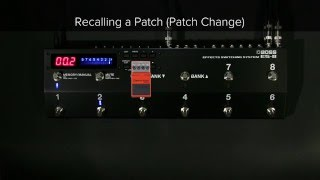 ES-8 Quick Start Chapter 2: Saving and Recalling a Patch