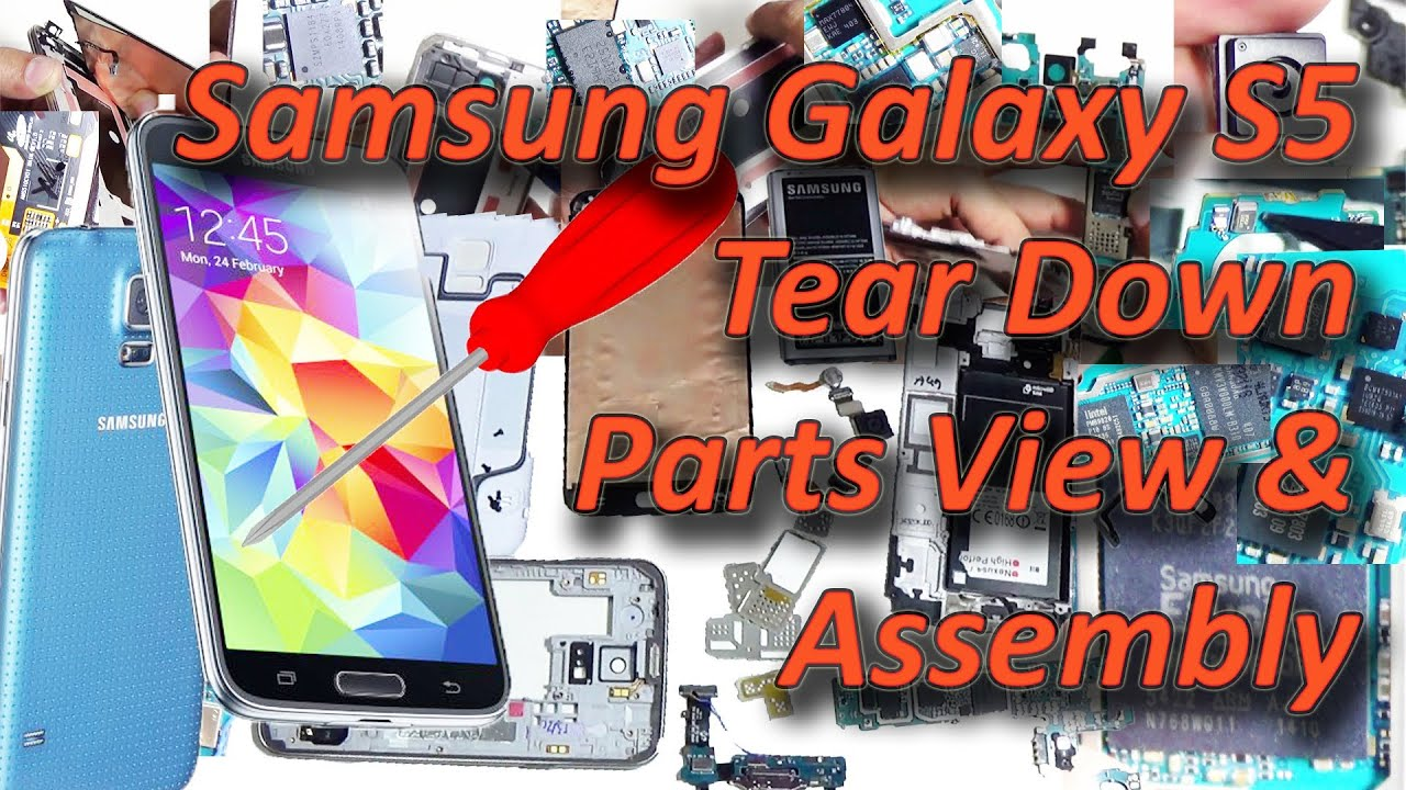 Samsung Galaxy S5 Tear Down Parts View Ics Number Assembly And S Circuit Diagram Real Price Youtube