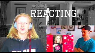 reacting to people reacting to me
