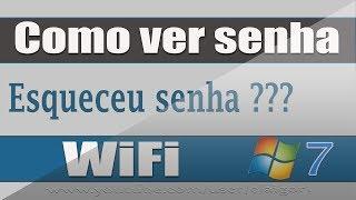 Como ver senha wifi no windows 7 / Esqueceu senha wifi ?? MiTutoriais