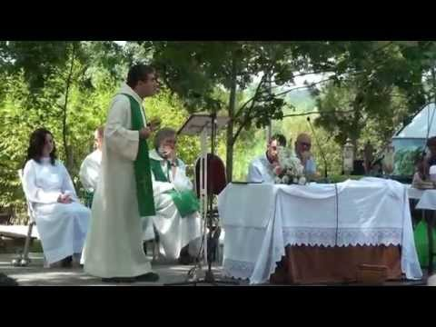 homilia pelo P.Júlio Grangeia no Dia da Freguesia de Recardães e Espinhel