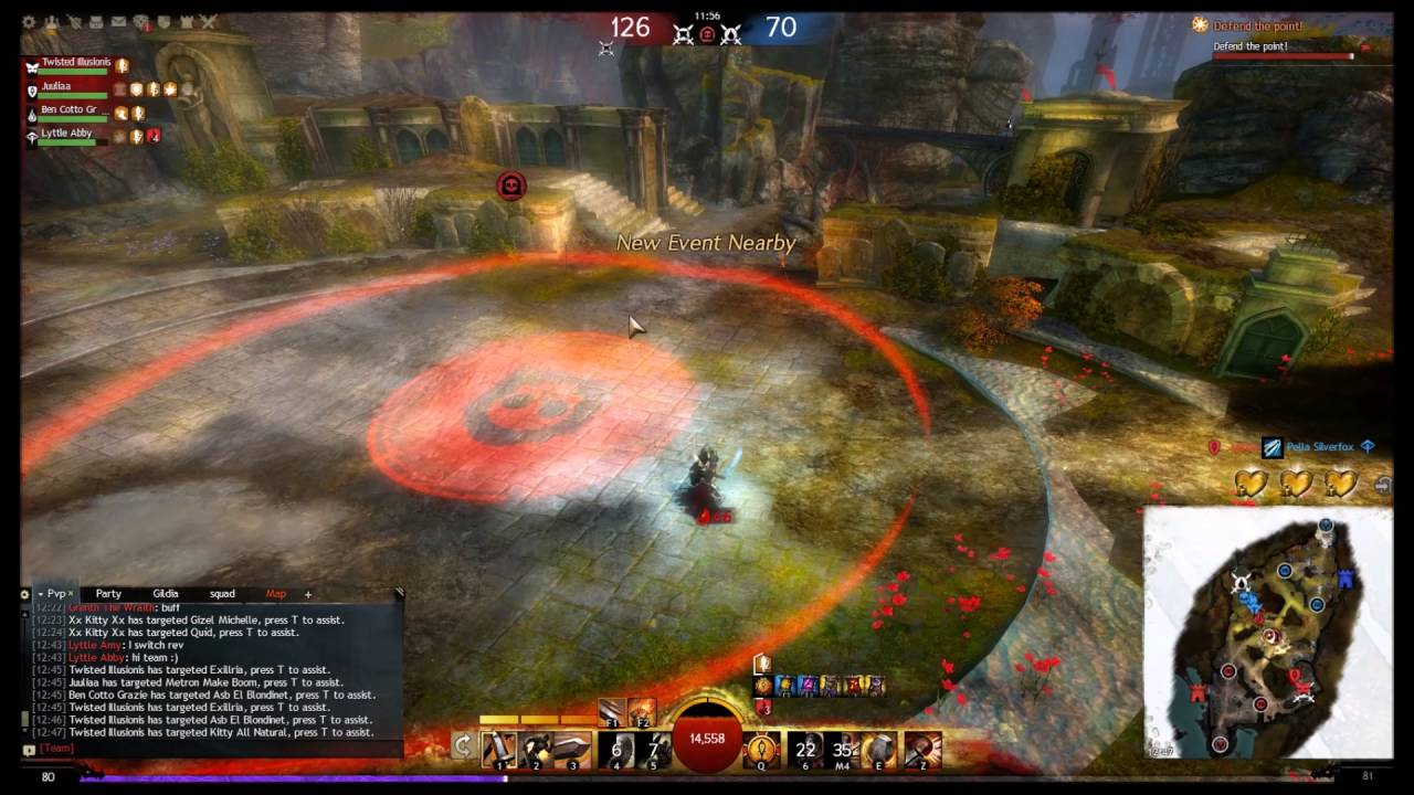 Repeat Guild Wars 2 Condition Damage Warrior Sword Shield Longbow by