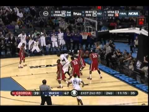 2011 NCAA Tourney: #7 Washington Huskies vs. #10 Georgia Bulldogs