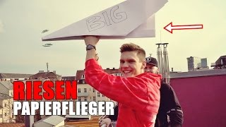 RIESEN-PAPIERFLIEGER | Ksfreak Vs Krappi