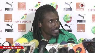 """Aliou Cissé : """"il faut battre le Congo pour améliorer nos statistiques"""""""