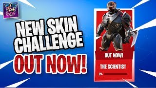 "NEW FREE SKIN ""SCIENTIST"" & ""METEORIC RISE"" CHALLENGES UNLOCKED 