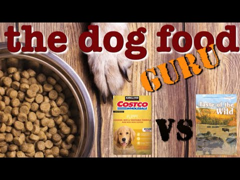 Costco Brand Vs Taste Of The Wild  Dog Food Mashup