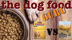 Costco Brand vs Taste of the Wild  dog food mashup