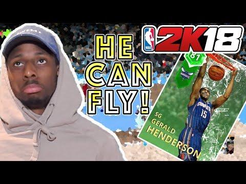 NBA 2K18 MyTeam Gameplay | Emerald Gerald Henderson Gameplay!