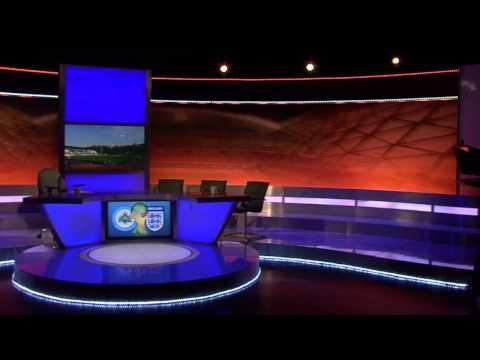 Behind the scenes at Al Jazeera +3. San Marino vs England.