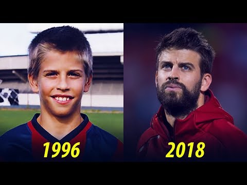 Gerard Piqué Transformation From 2 To 31 Years Old