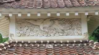 石見銀山(大森町)西性寺の鏝(こて)絵
