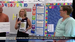 Ridge View Elementary School awarded One Class At A Time check