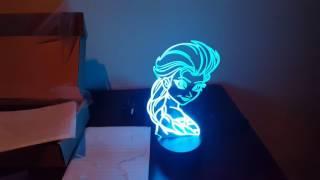 Lámparas 3D Led