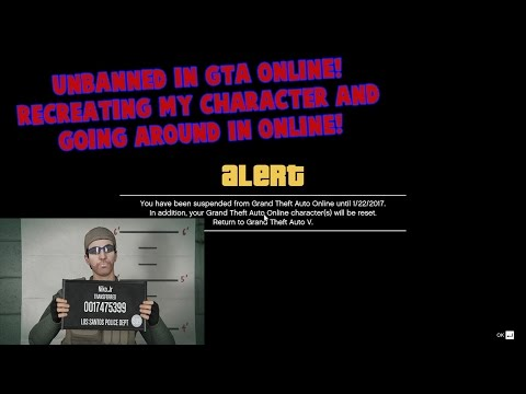 What it feels like to get unbanned from GTA Online!