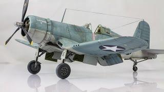 Hoe het bouwen van Tamiya ' s F4U1 Corsair 1:48 Laatste Deel - HD