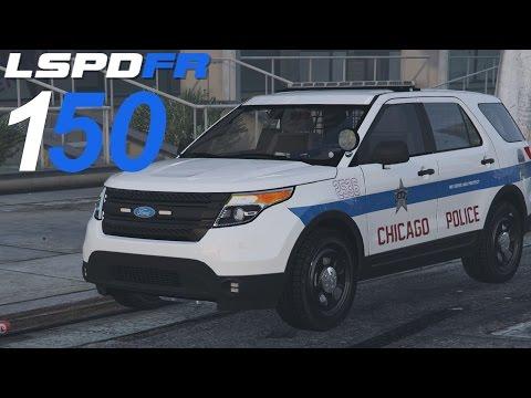 GTA 5 LSPDFR SP #150 Chicago Police Department