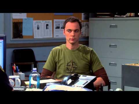 The Big Bang Theory - Officer Hernandez and Sheldon S08E01 [HD]