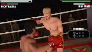 Rocky Balboa - PSP (PPSSPP) Rocky Balboa vs Ivan Drago - Historical Fight
