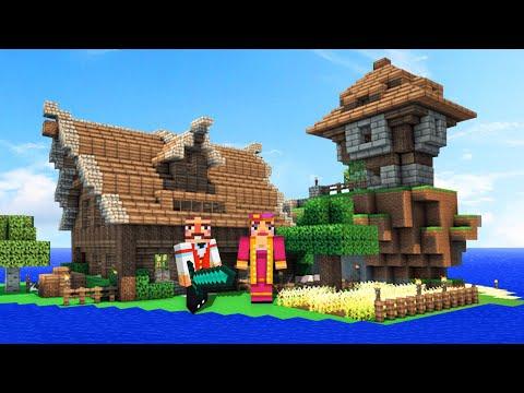 DREAM ISLAND ON MINECRAFT! (Minecraft #3)