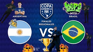 Final SA🏆 - Ayala🧀(Argentina) VS Loops Esports(Brasil) 🤩 [PUBG MOBILE] 🔥