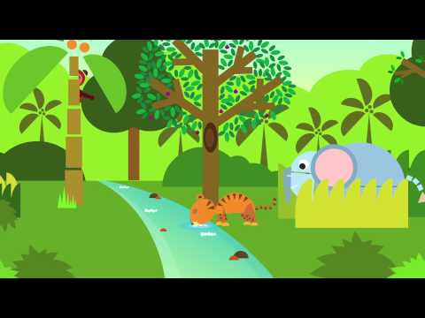 Cockatoo and Tiger - Fables by SHAPES   Folktales from India   Folktales for Kids