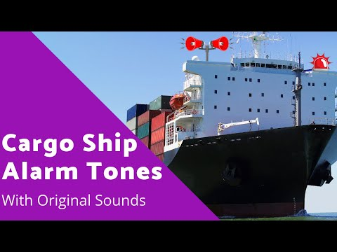 Alarms tones on Ship [Ship Alarm With Sound Effect]