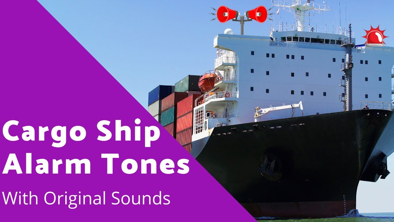 Alarms tones on Ship [Ship Alarm With Sound Effect] #Shipalarm #Abandonship  #Manoverboard