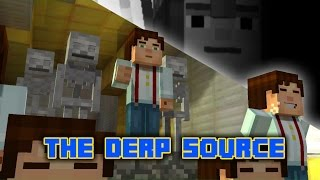 randomvideos the derp source minecraft story mode spoilers