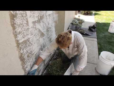 Applying A Skip Trowel Plaster Texture Or Finish