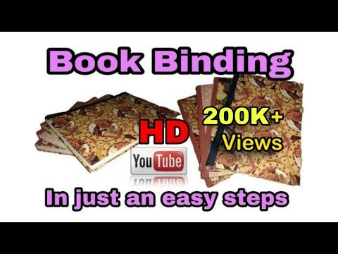 Diy- Attractive Book Binding At Home in just an easy way