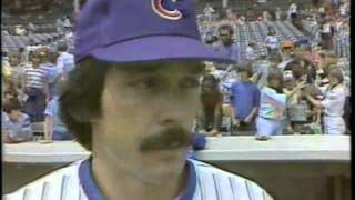1979 CUBS - JERRY MARTIN profile on NBC Chicago sports (WMAQ-TV)