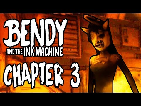 Nuevo Capitulo 3 ! Bendy And The Ink Machine | Chapter 3 | llega Alice Angel | Episodio 3 | Gameplay