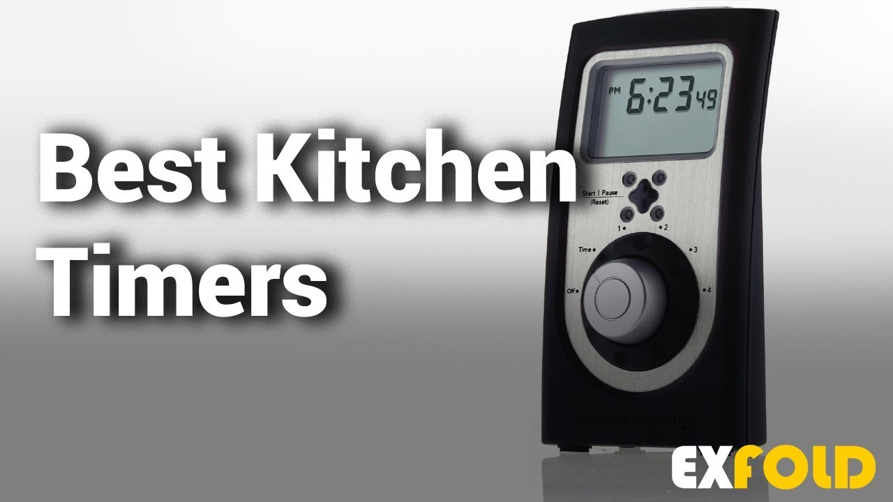 10 Best Kitchen Timers with Review & Details - Which is the Best Kitchen  Timer? - 2019