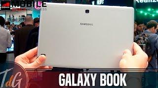 Samsung Galaxy Book, primeras impresiones #MWC17