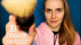ASMR 20 Triggers to Help You Sleep