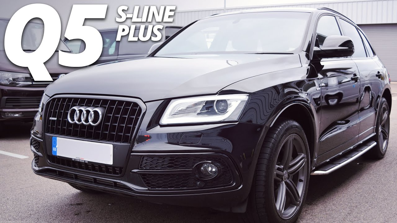 Audi Q5 Lease >> Audi Q5 S-Line Plus 2015 walk around - YouTube