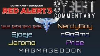 6 player allied ffa magmageddon red alert 3