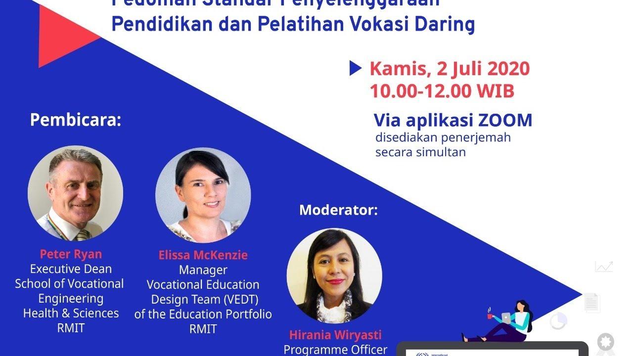 Pedoman Standar Penyelengaraan Pendidikan dan Pelatihan Vokasi Daring