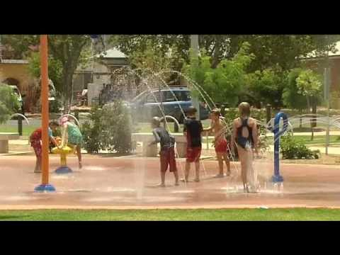 Griffith's City Park Top Playground in NSW Wednesday 16 January 2013