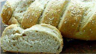 Ржаной батон🍞 как Докторский! Хлеб из ржаной и пшеничной муки