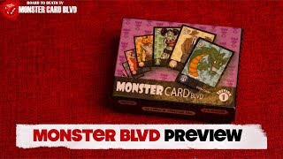 Monster Card Blvd Preview Video