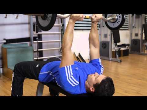 EZ Bar Skull Crushers - Triceps Exercise