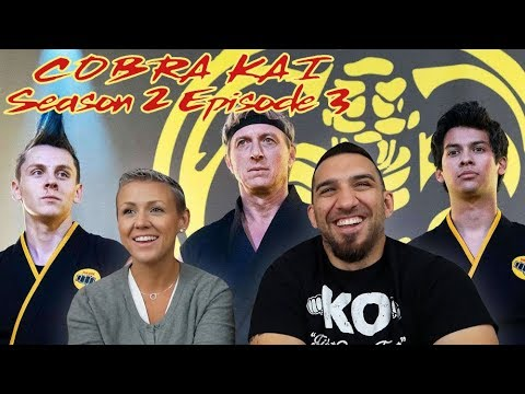 Cobra Kai Season 2 Episode 3 'Fire And Ice' REACTION!!