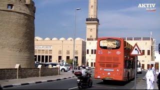 Eine Fahrt durch Dubai