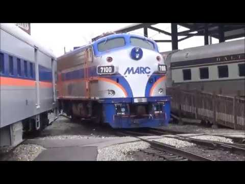 Touring the Baltimore & Ohio Railroad Museum, Baltimore Maryland