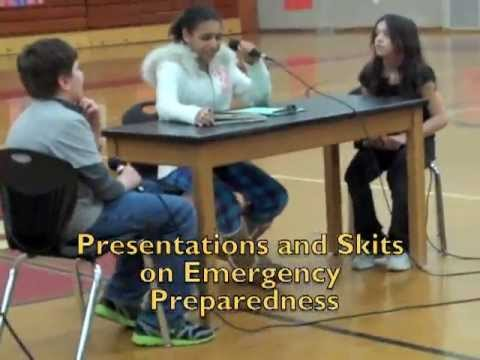 STEP Presentations at Spooner Middle School