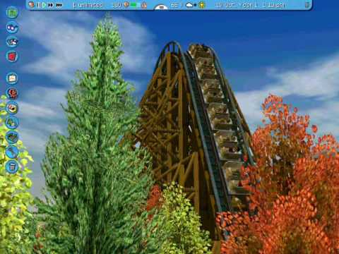 Grizzly - Intamin Wooden Coaster RCT3