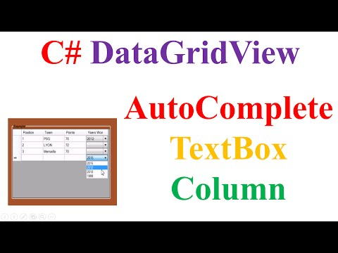 Autocomplete textbox in windows form application C# using